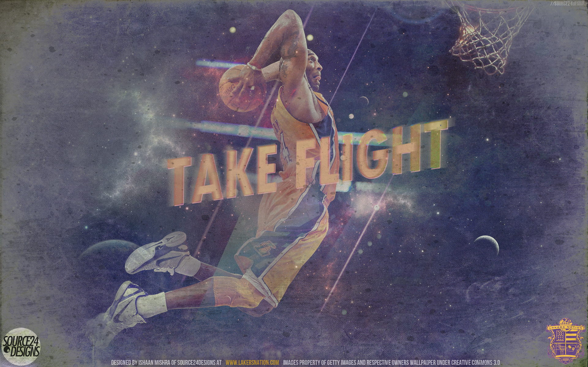 Kobe Bryant - Take Flight by Angelmaker666