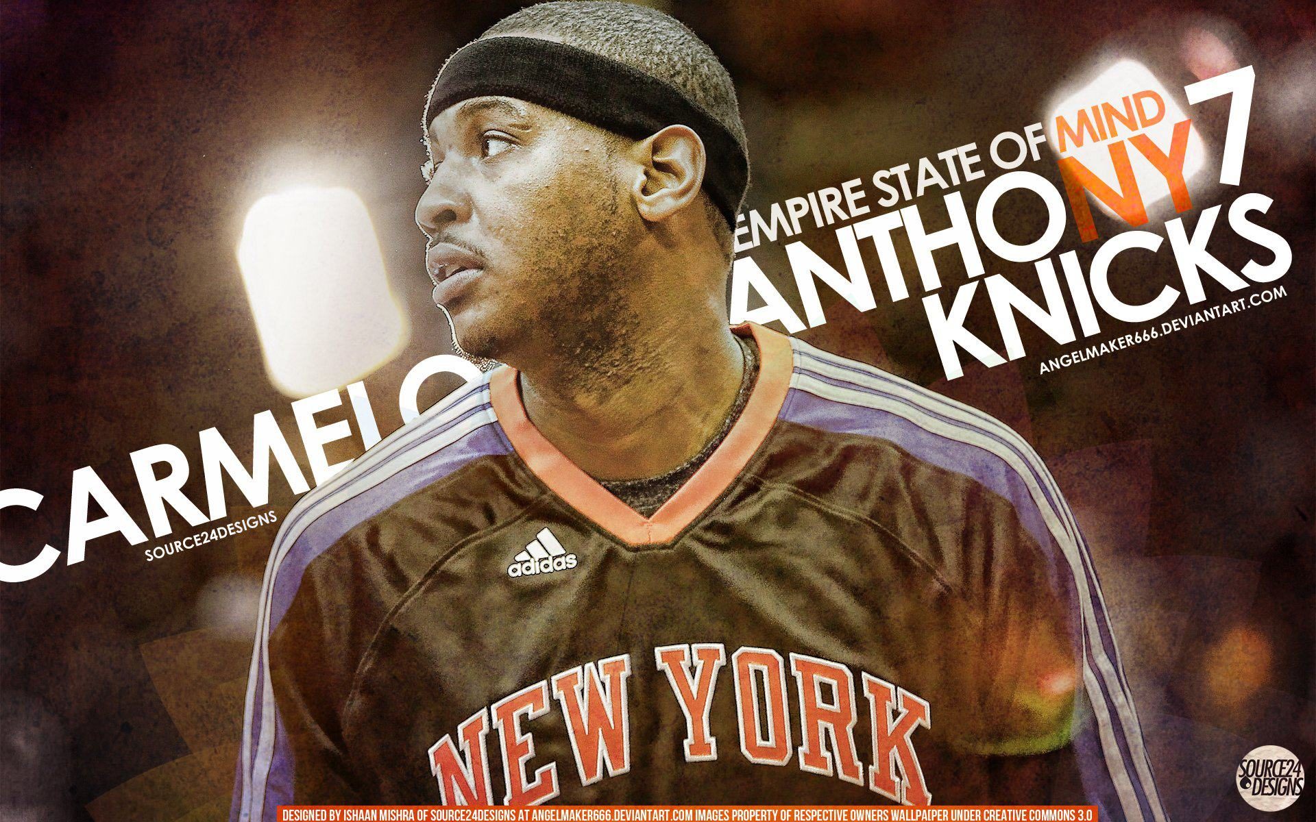 Carmelo Anthony Knicks Wallpaper by IshaanMishra on DeviantArt
