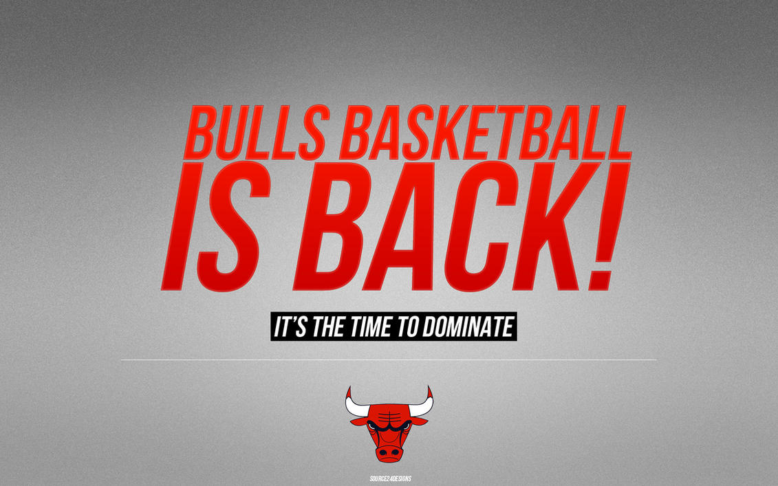 Chicago Bulls Wallpaper by IshaanMishra