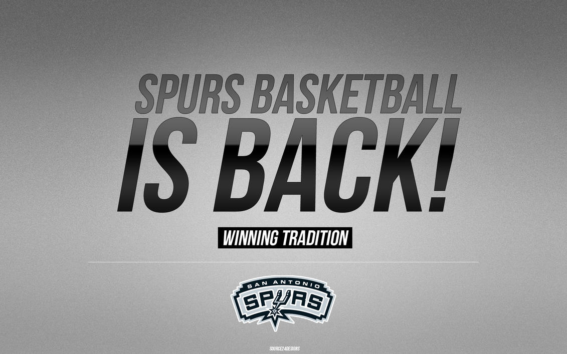 San Antonio Spurs Wallpaper by Angelmaker666