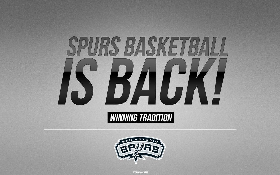 San Antonio Spurs Wallpaper By IshaanMishra
