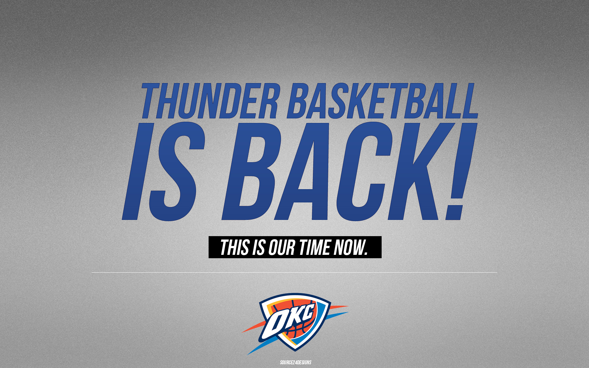 Oklahoma City Thunder Wallpaper by Angelmaker666