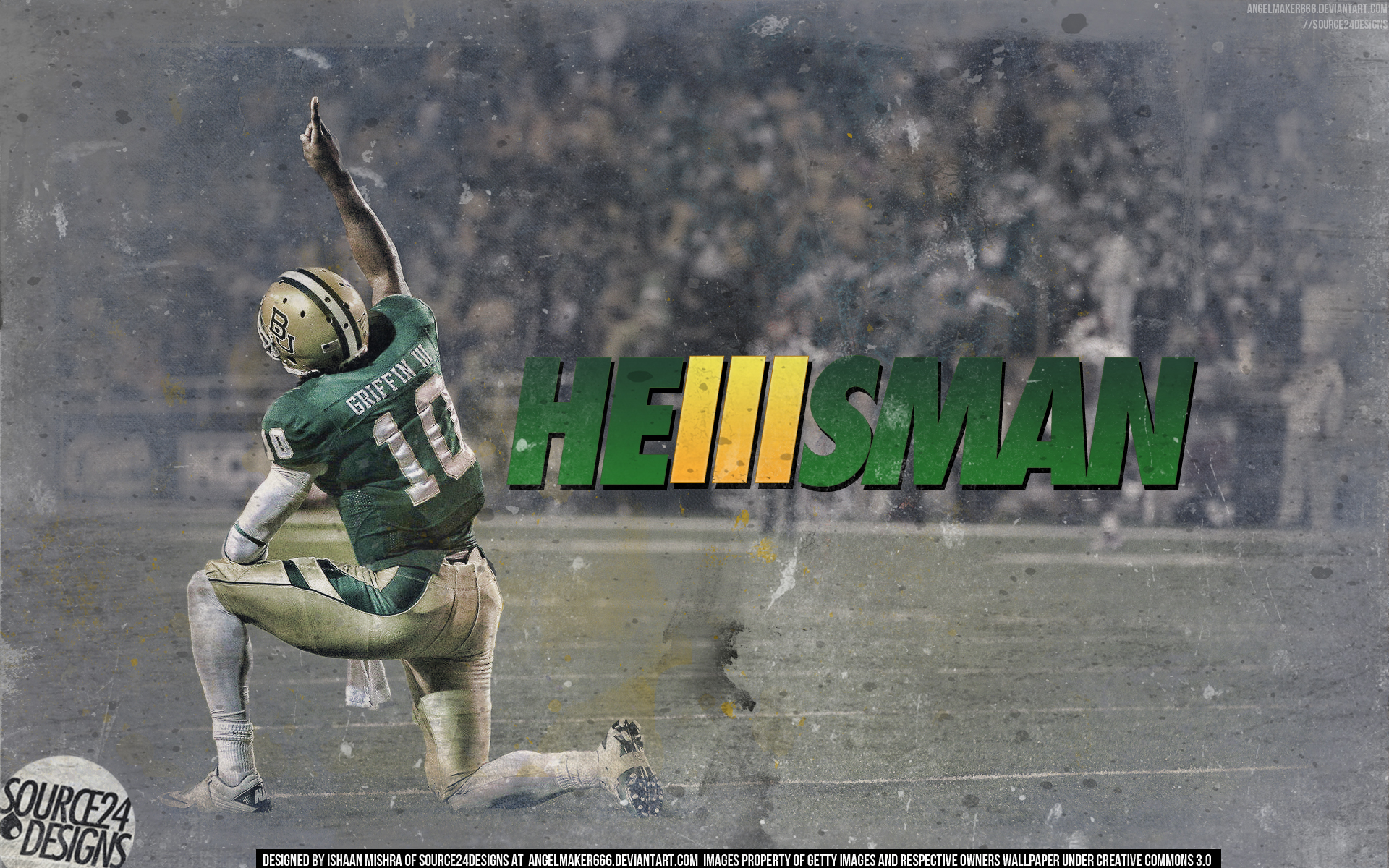 Robert Griffin III Heisman by IshaanMishra