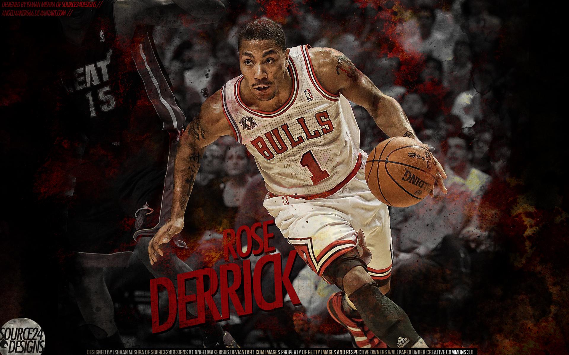 Derrick Rose MVP Wallpaper by IshaanMishra