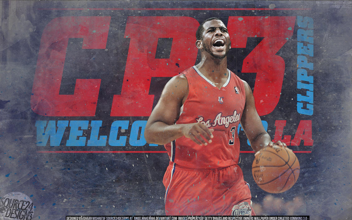 chris paul cp3 clippers wallpaper by angelmaker666 on