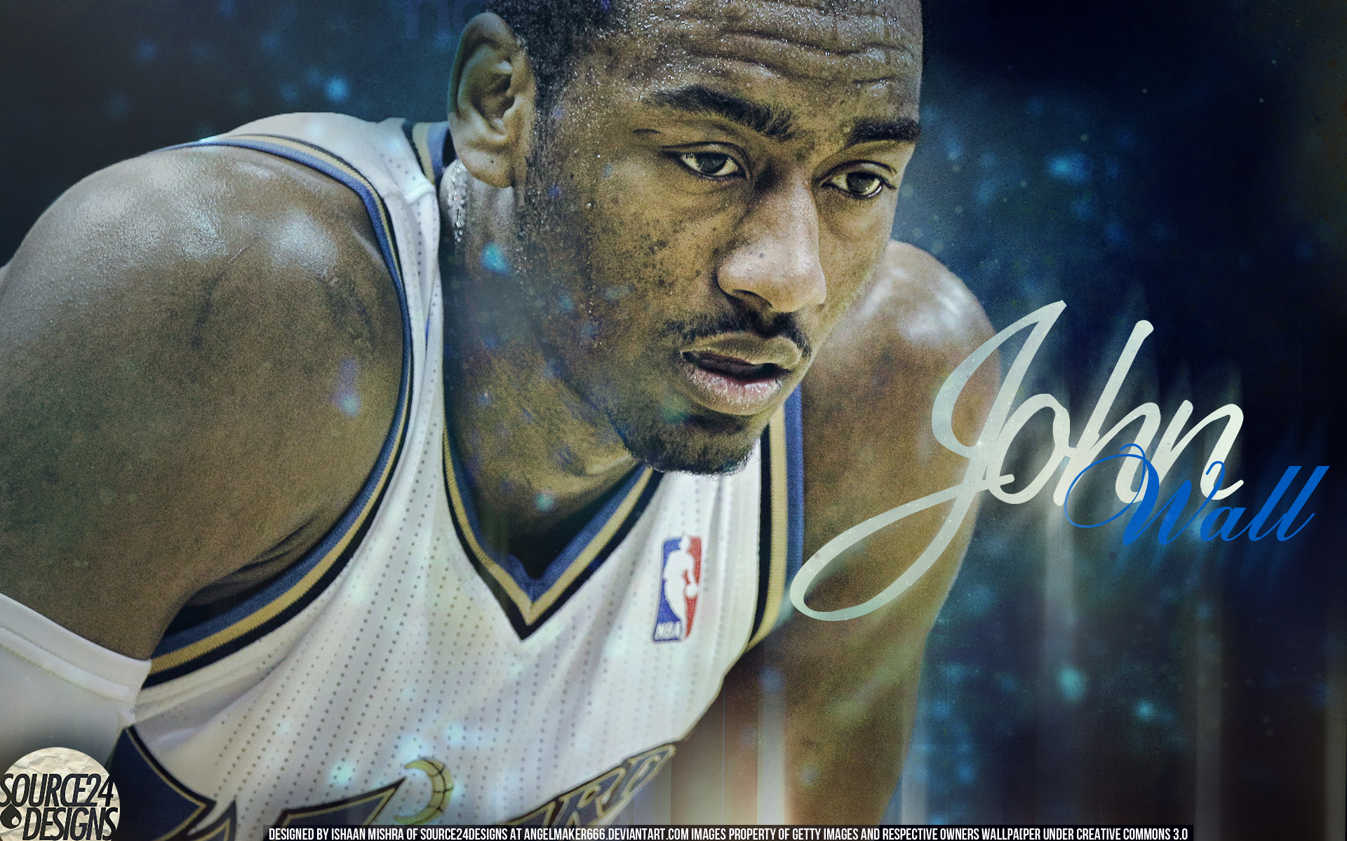 john wall dunking wallpaper