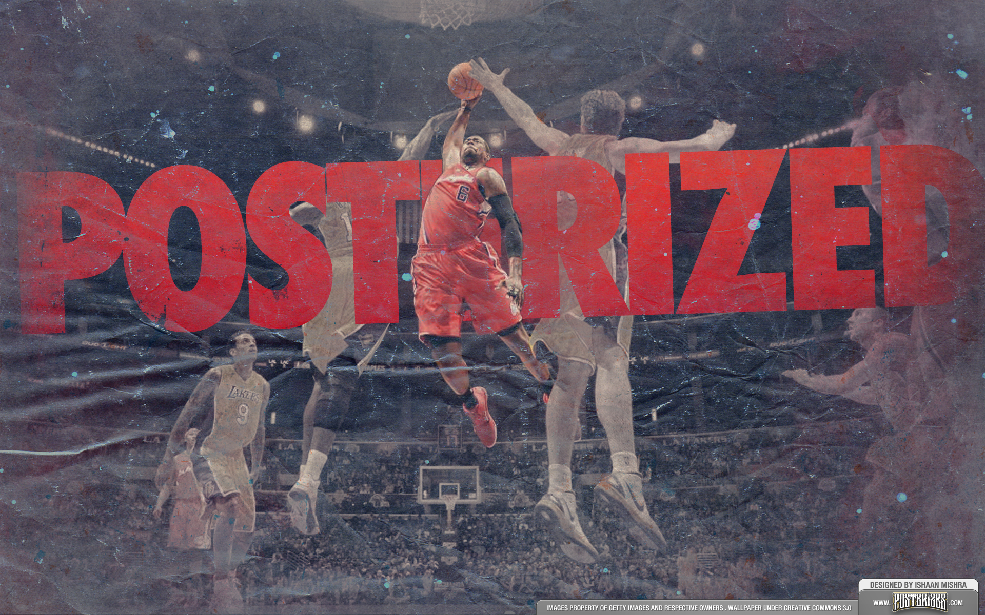 deandre jordan posterization wallpaper by ishaanmishra on