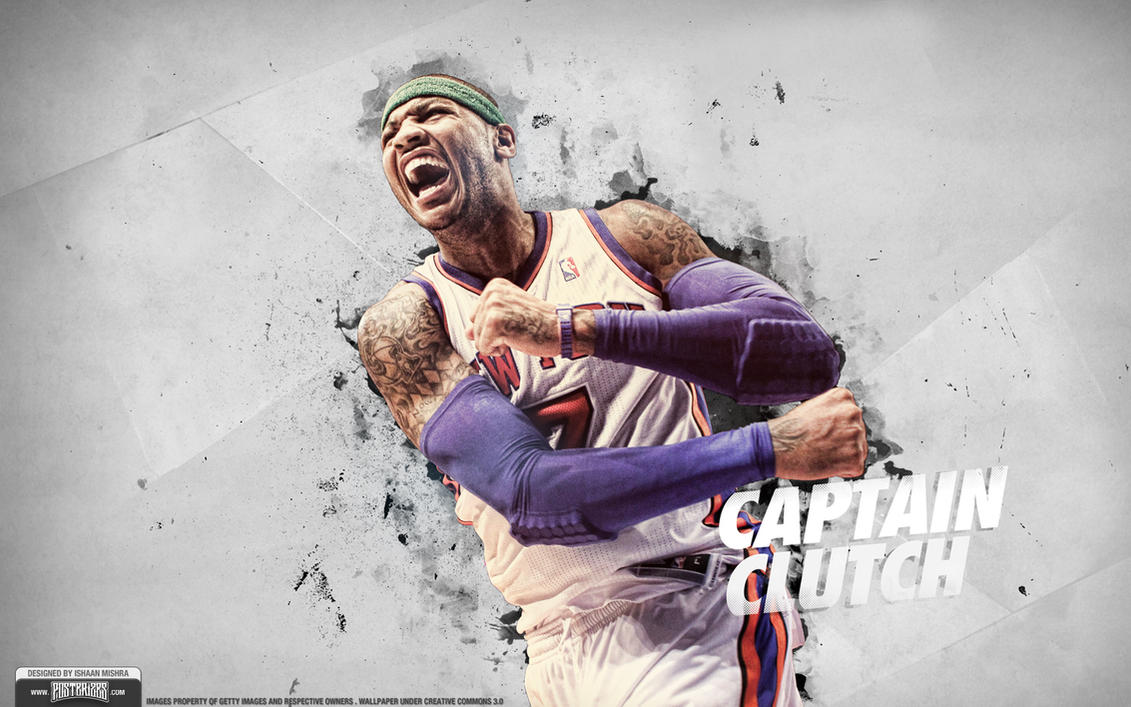 Carmelo Anthony Knicks Wallpaper by IshaanMishra