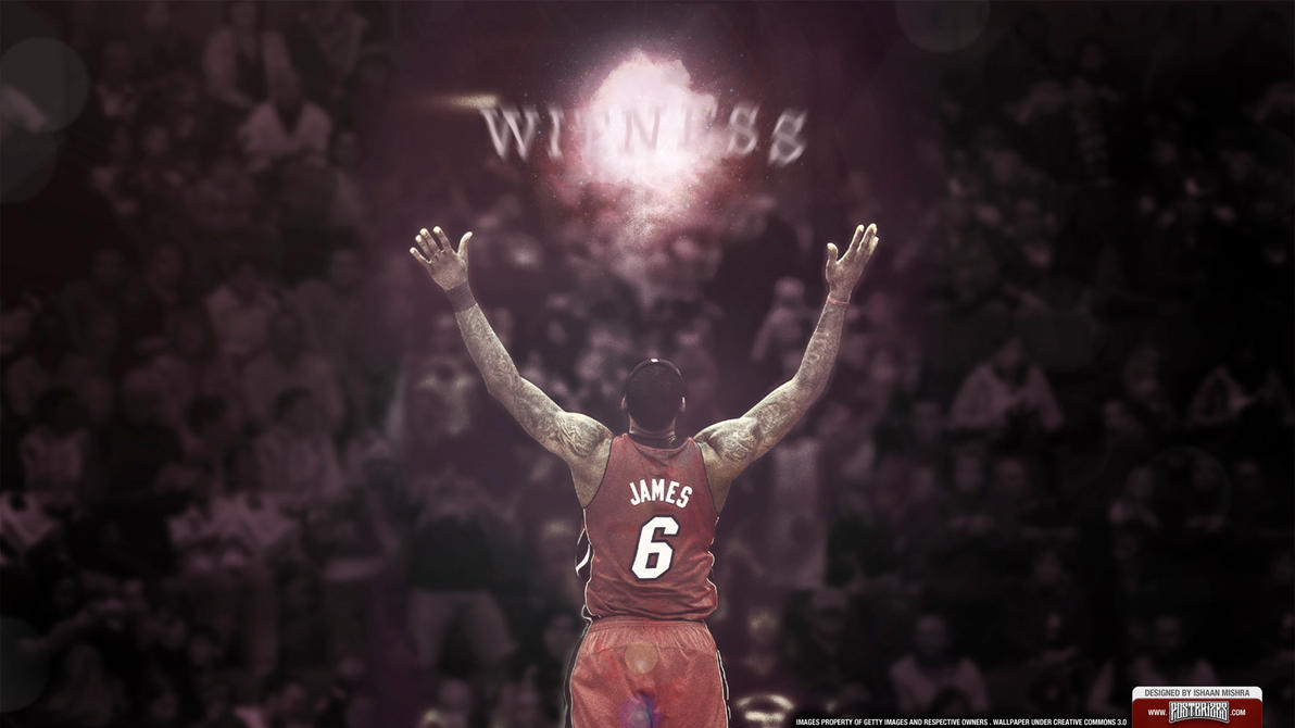 LeBron James MVP Wallpaper NBA Finals by IshaanMishra