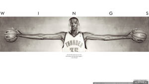 Kevin Durant Wings Wallpaper
