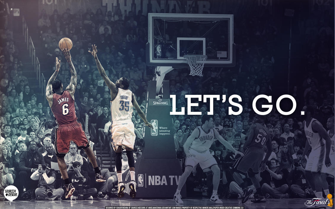 2012 NBA Finals Wallpaper by IshaanMishra