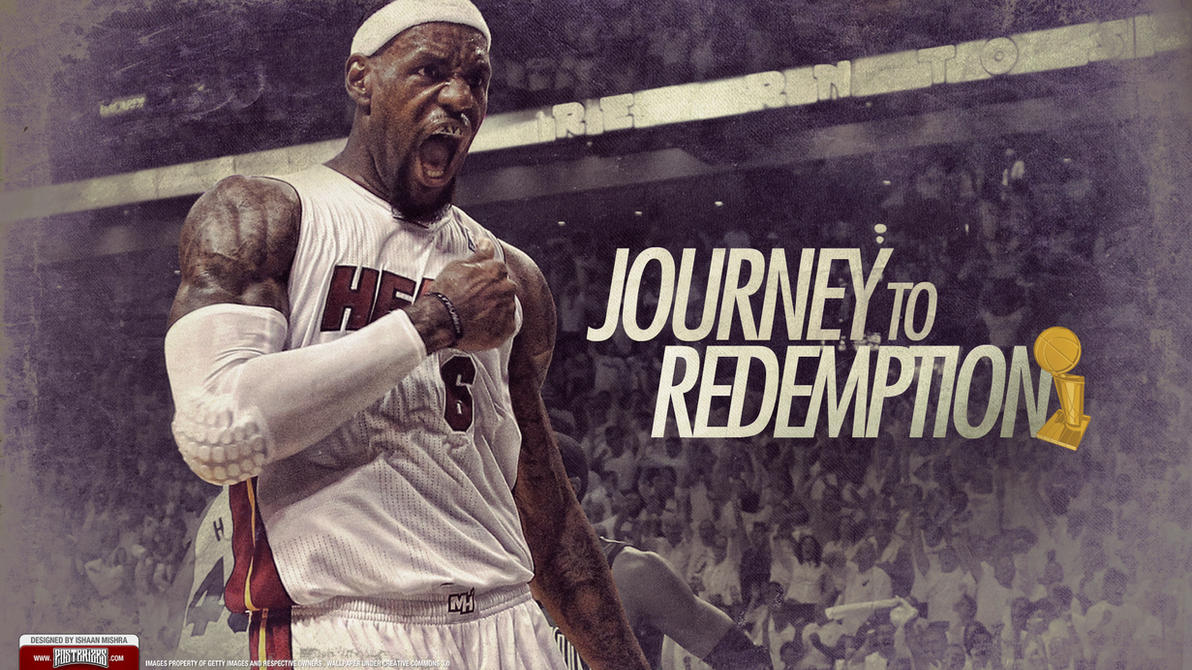 LeBron James 2012 NBA Champion Wallpaper by Angelmaker666