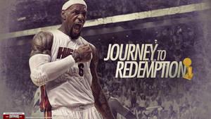 LeBron James 2012 NBA Champion Wallpaper