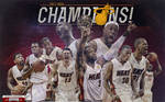 Miami Heat 2012 Champions Team Wallpaper