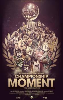NBA Champions Poster