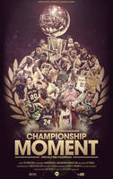 NBA Champions Poster by IshaanMishra