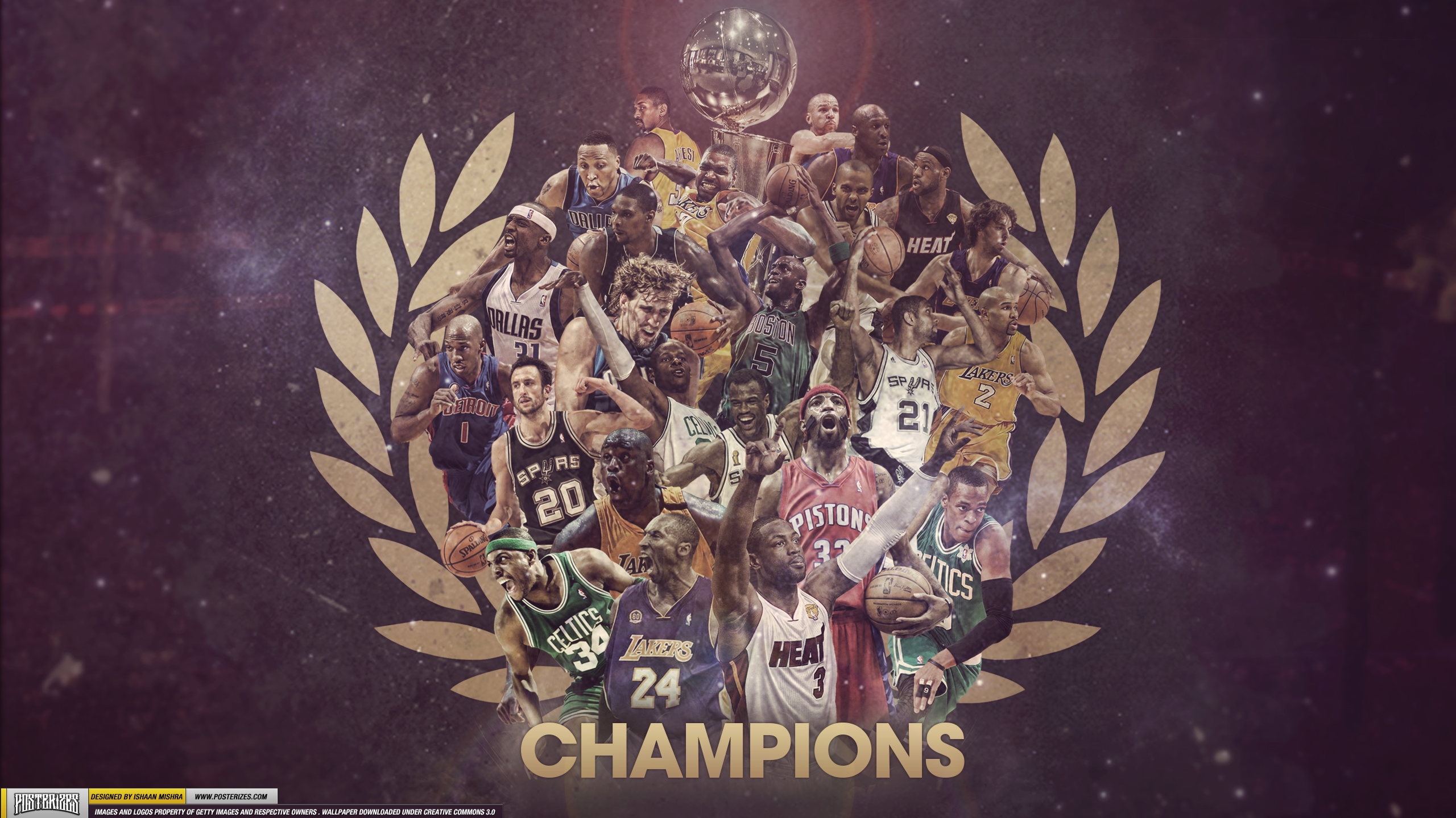 NBA Champions Wallpaper by IshaanMishra
