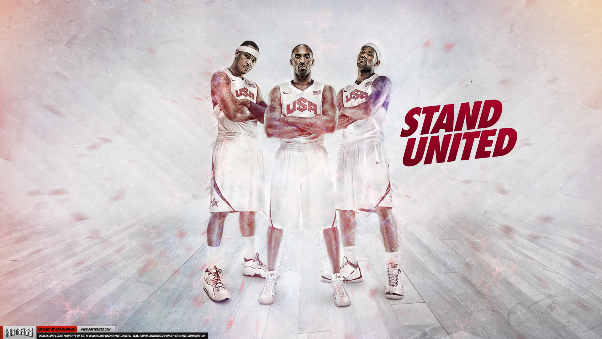 Team USA Stand United Wallpaper By IshaanMishra