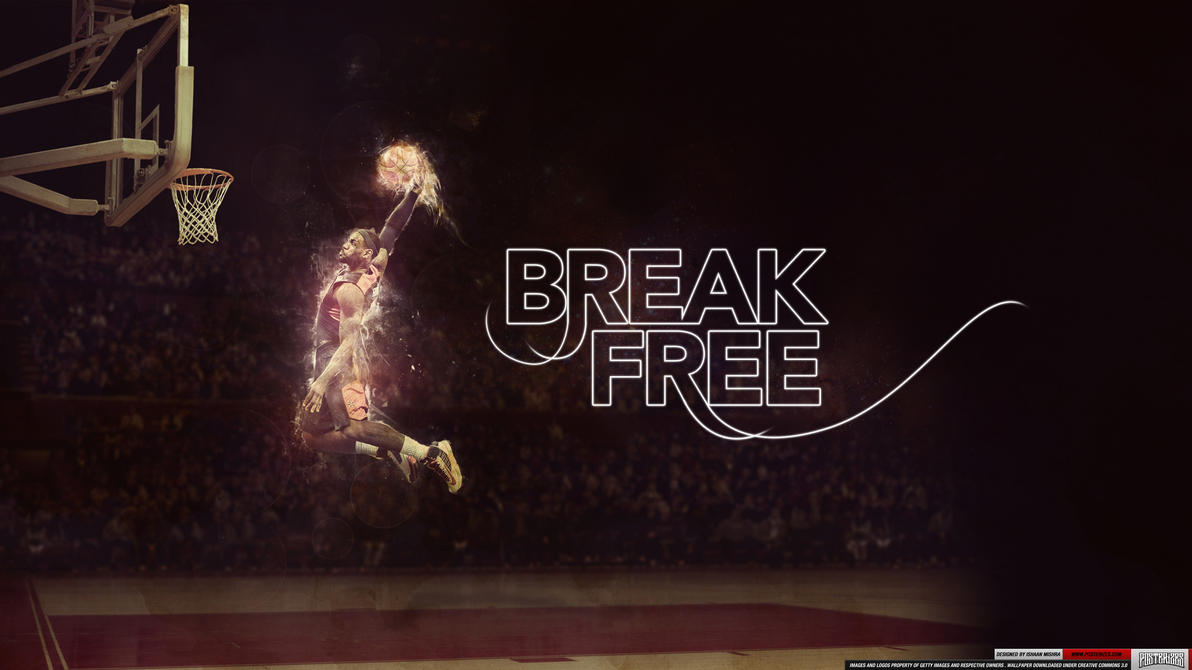 LeBron James Wallpaper by IshaanMishra