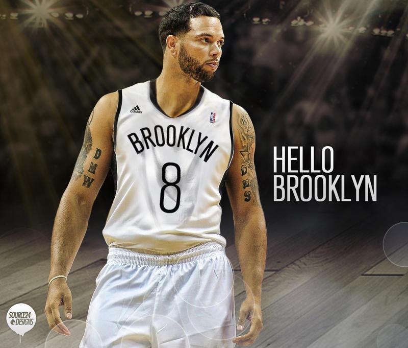 Deron Williams Brooklyn Nets By IshaanMishra