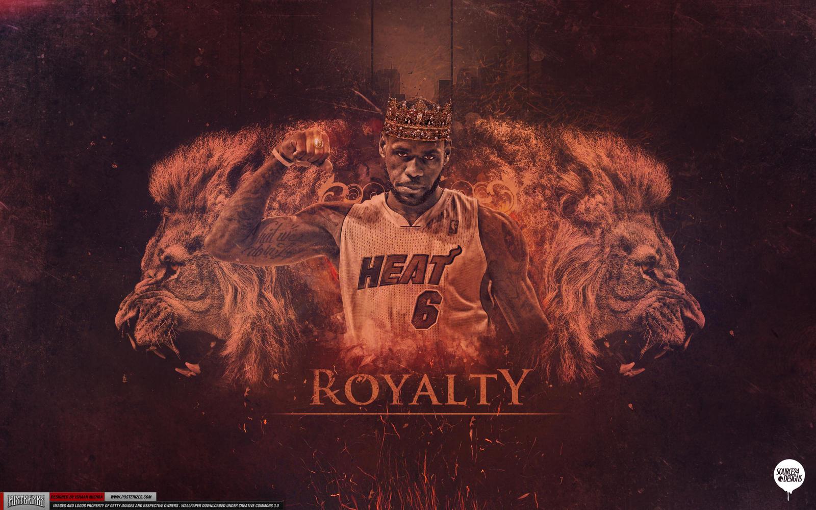 LeBron James NBA Champion Wallpaper By IshaanMishra