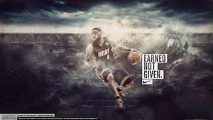 LeBron James - Earned Not Given Wallpaper