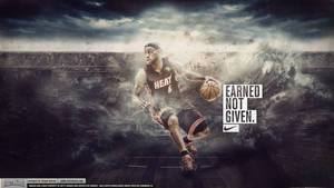 LeBron James - Earned Not Given Wallpaper by IshaanMishra