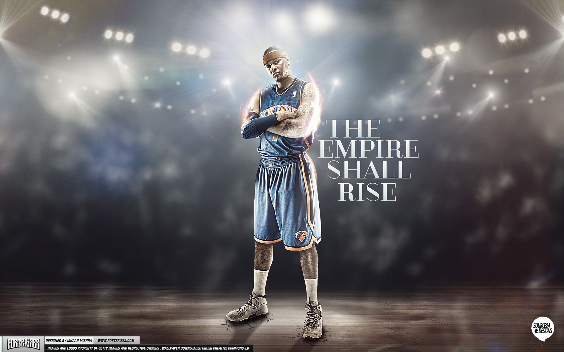 carmelo anthony knicks empire wallpaper by ishaanmishra on