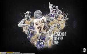 Kobe Bryant Legend Wallpaper by IshaanMishra
