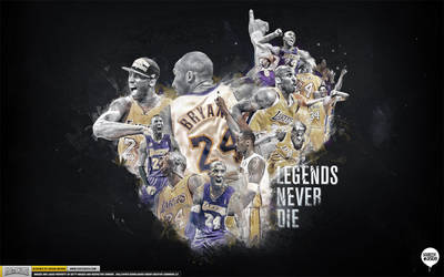 Kobe Bryant Legend Wallpaper