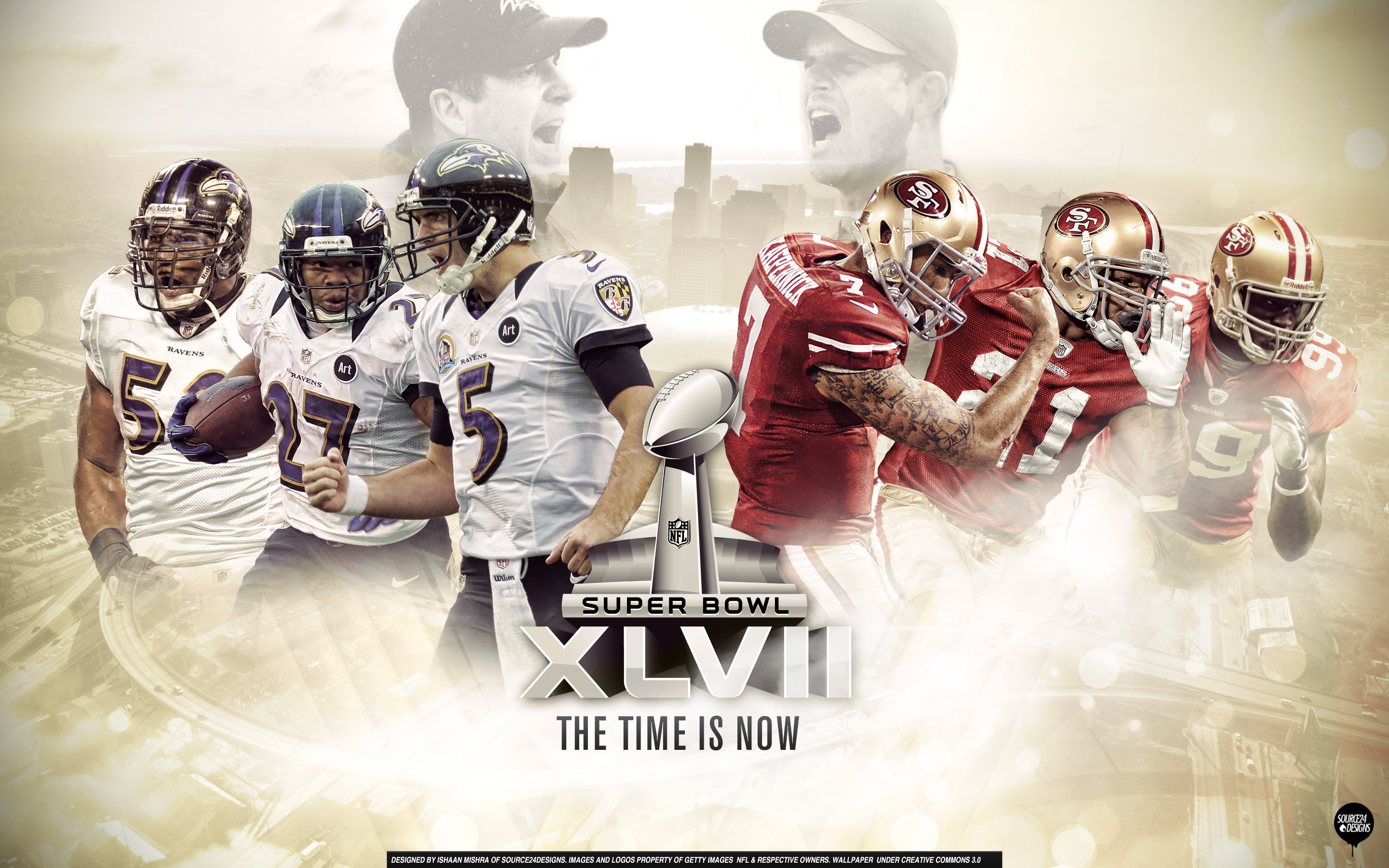Superbowl XLVII Wallpaper by Angelmaker666