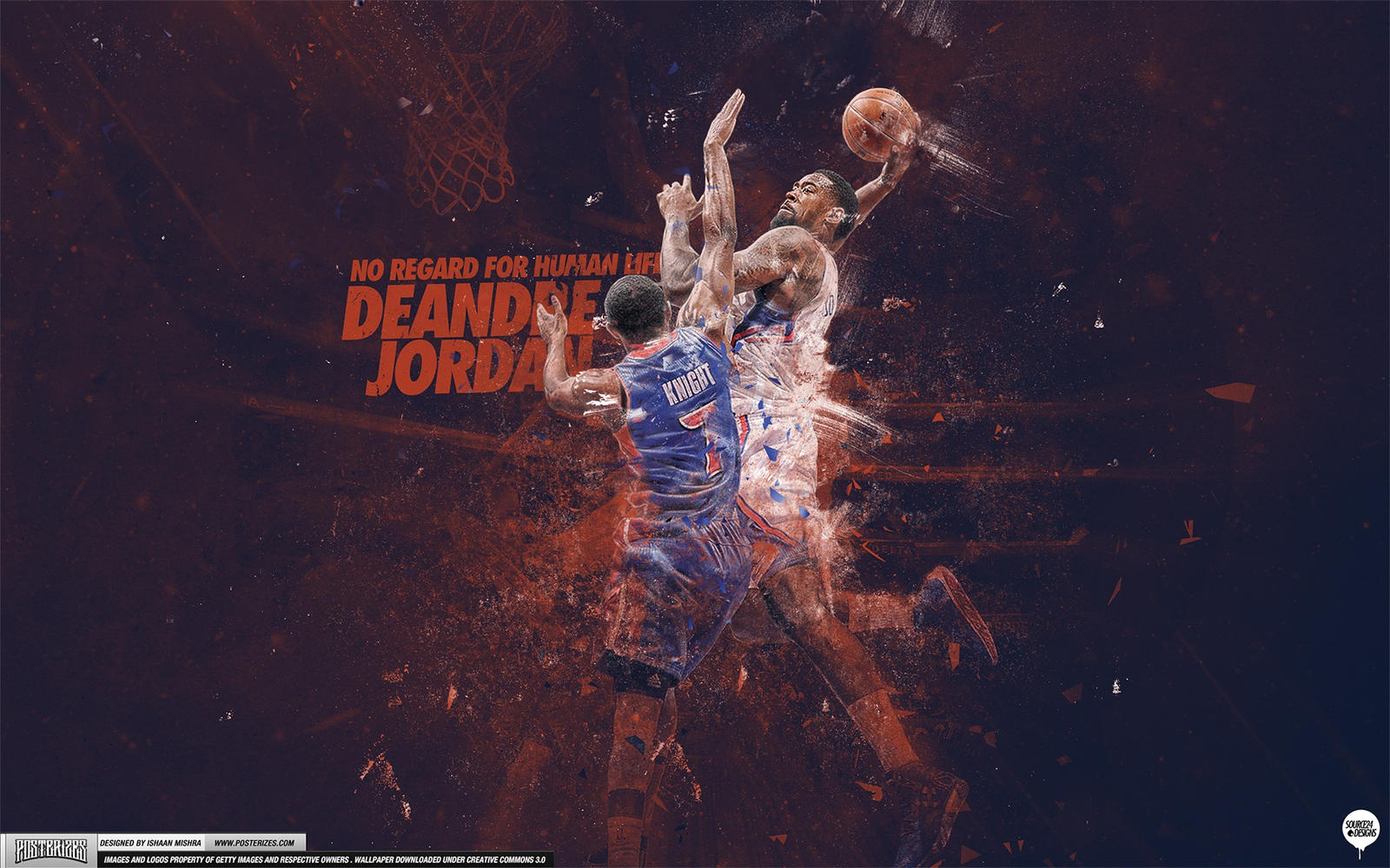 DeAndre Jordan Wallpaper by IshaanMishra