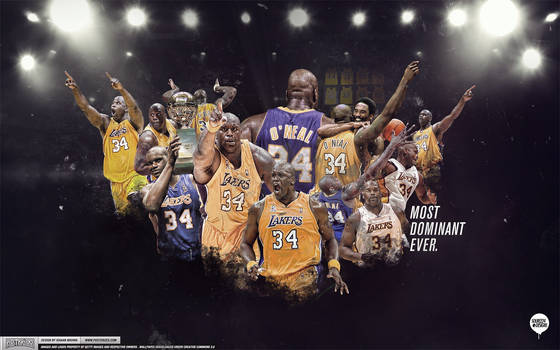 Shaq Lakers Legend Wallpaper