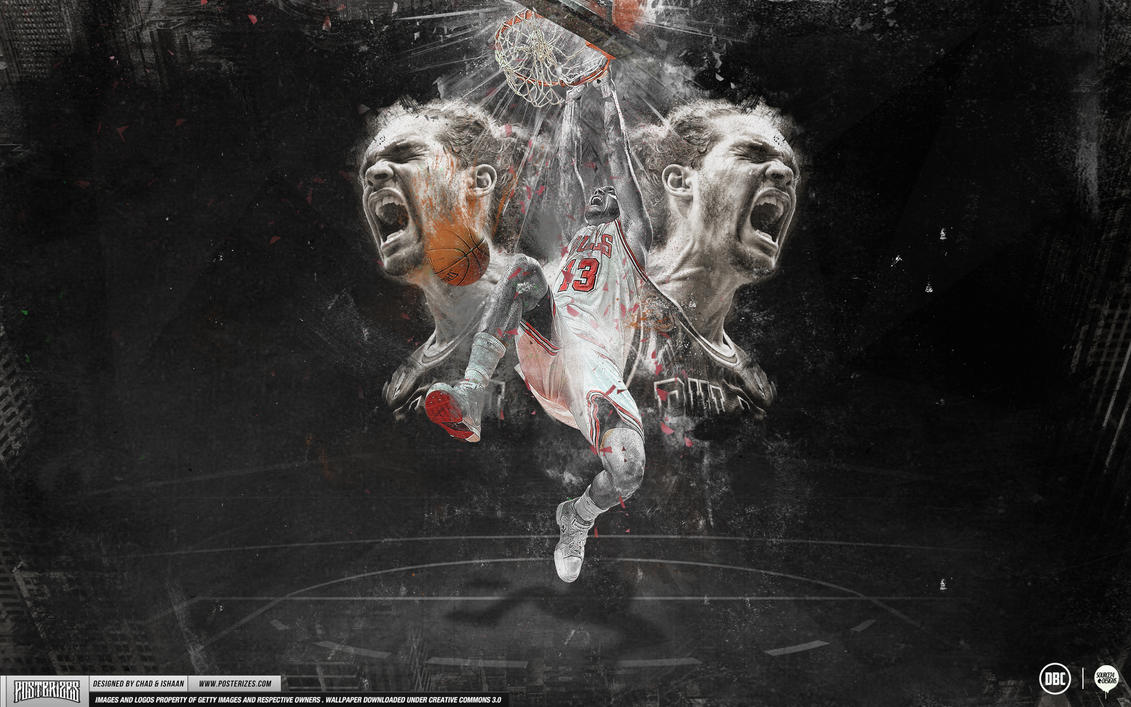 Joakim Noah Wallpaper by Angelmaker666