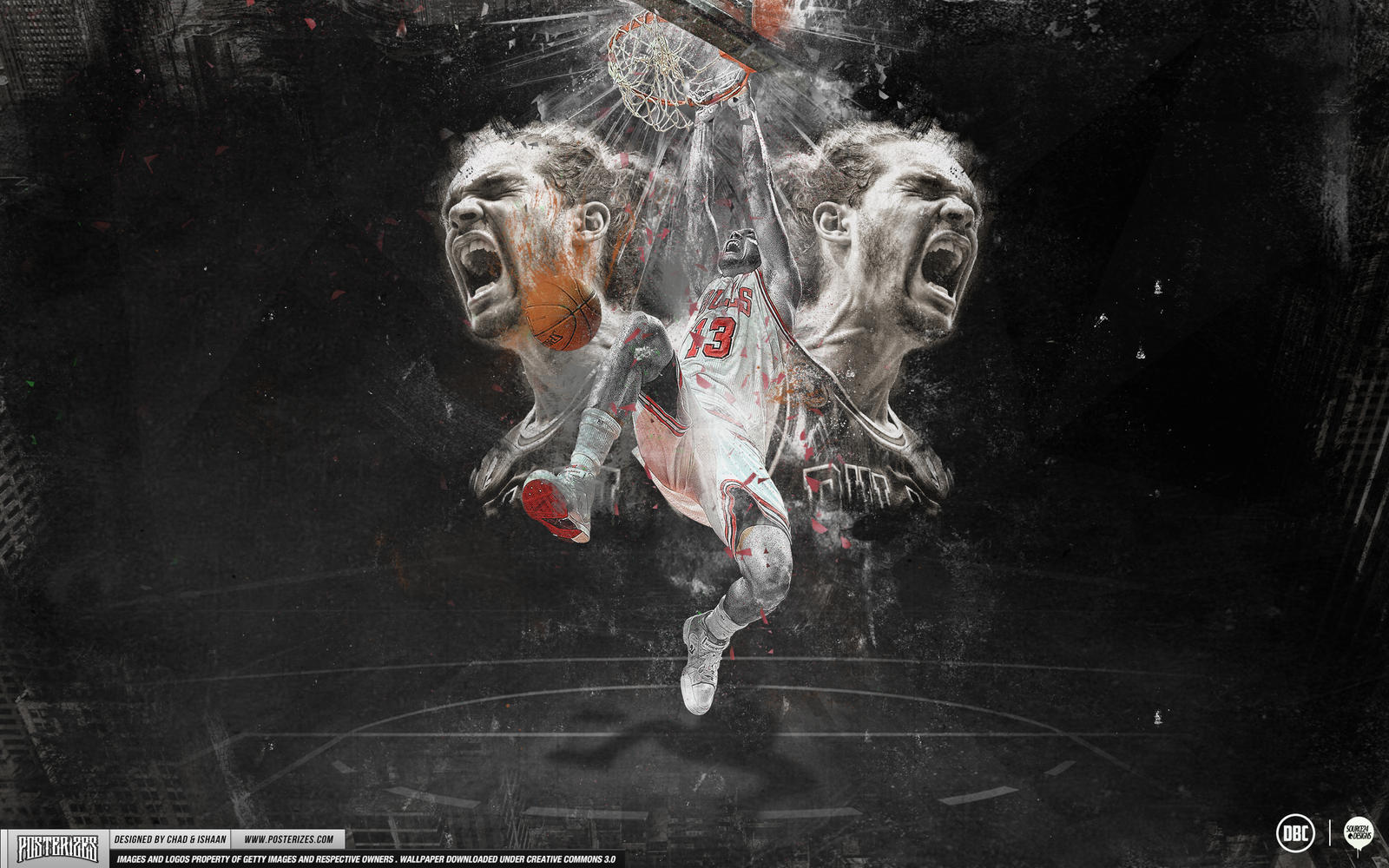 Joakim Noah Wallpaper by IshaanMishra