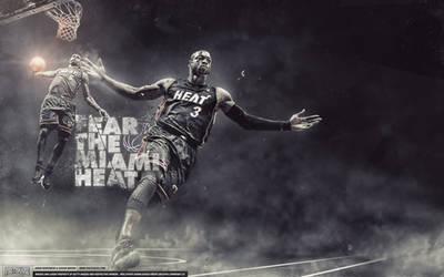 Miami Heat Wallpaper by IshaanMishra