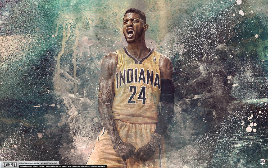 Paul george wallpaper by ishaanmishra on deviantart paul george wallpaper by ishaanmishra voltagebd Image collections