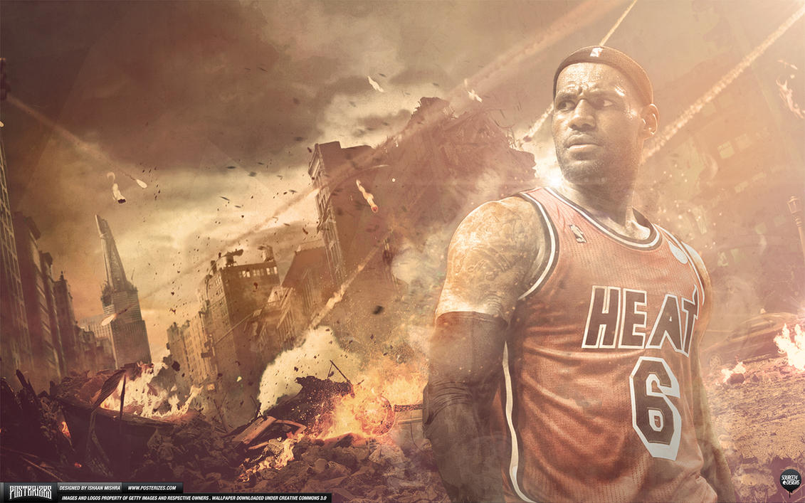 LeBron James Wallpaper by Angelmaker666