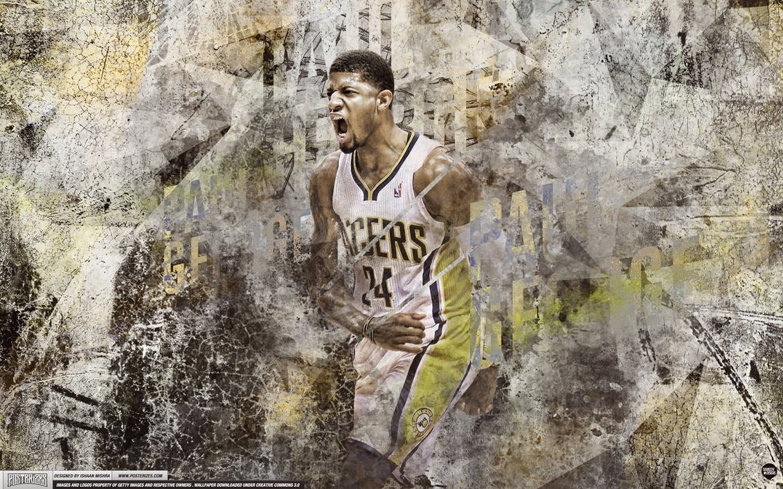 Paul George Wallpaper by IshaanMishra ...