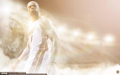LeBron James 2013 Champion Wallpaper by IshaanMishra