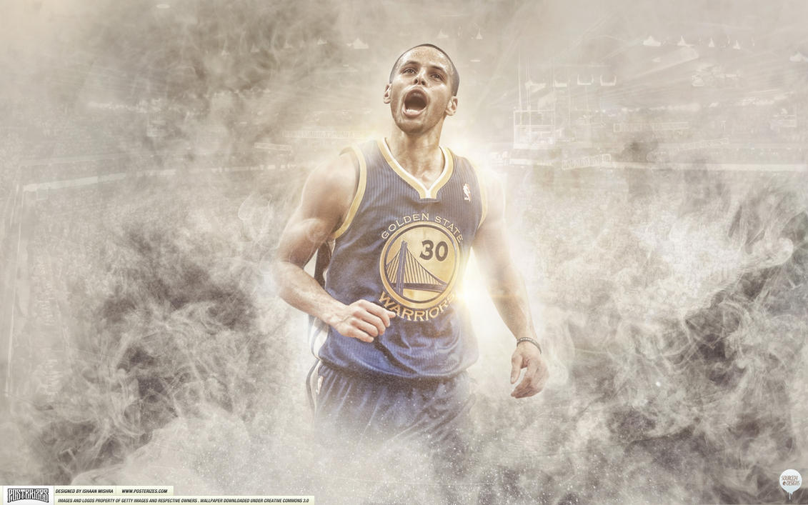 Steph Curry Wallpaper by IshaanMishra