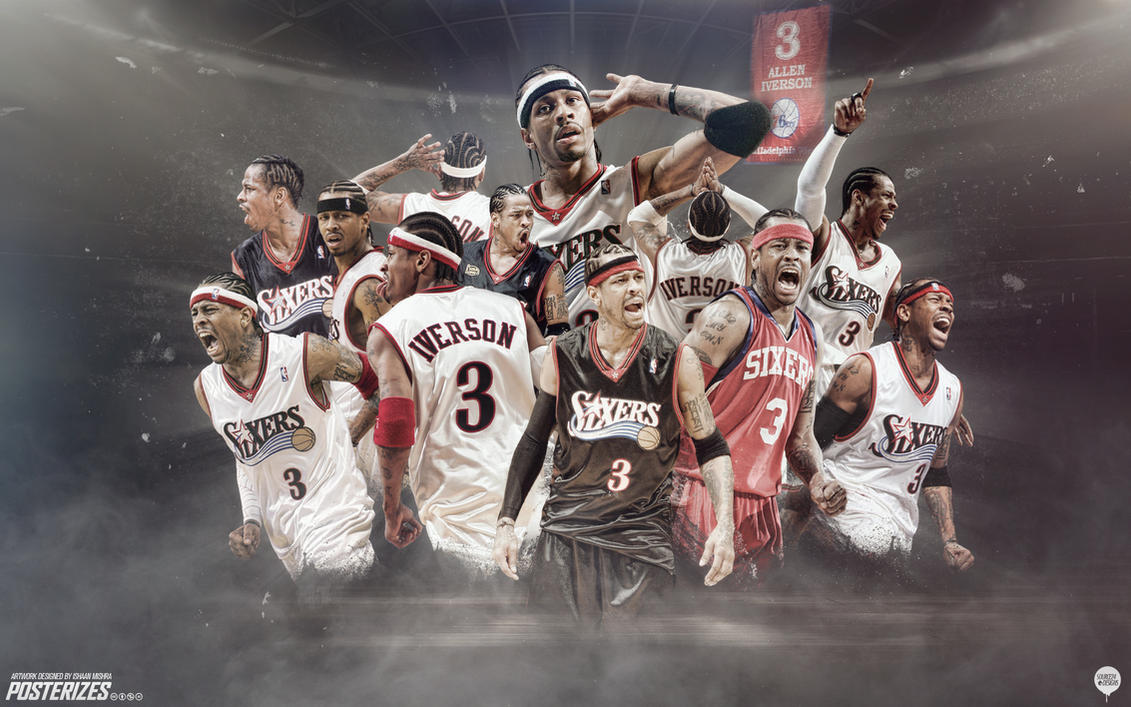 Allen Iverson Sixers Forever Wallpaper by IshaanMishra on ...
