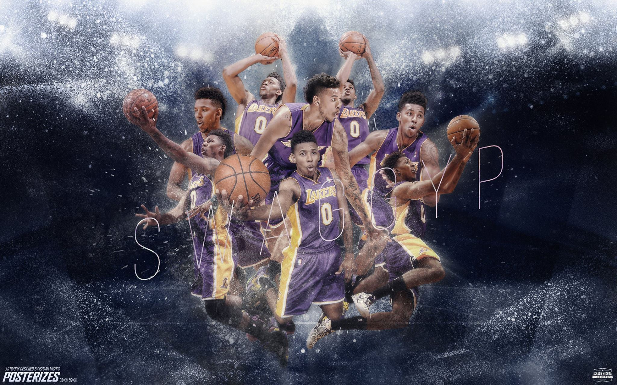 Nick Young Wallpaper by IshaanMishra