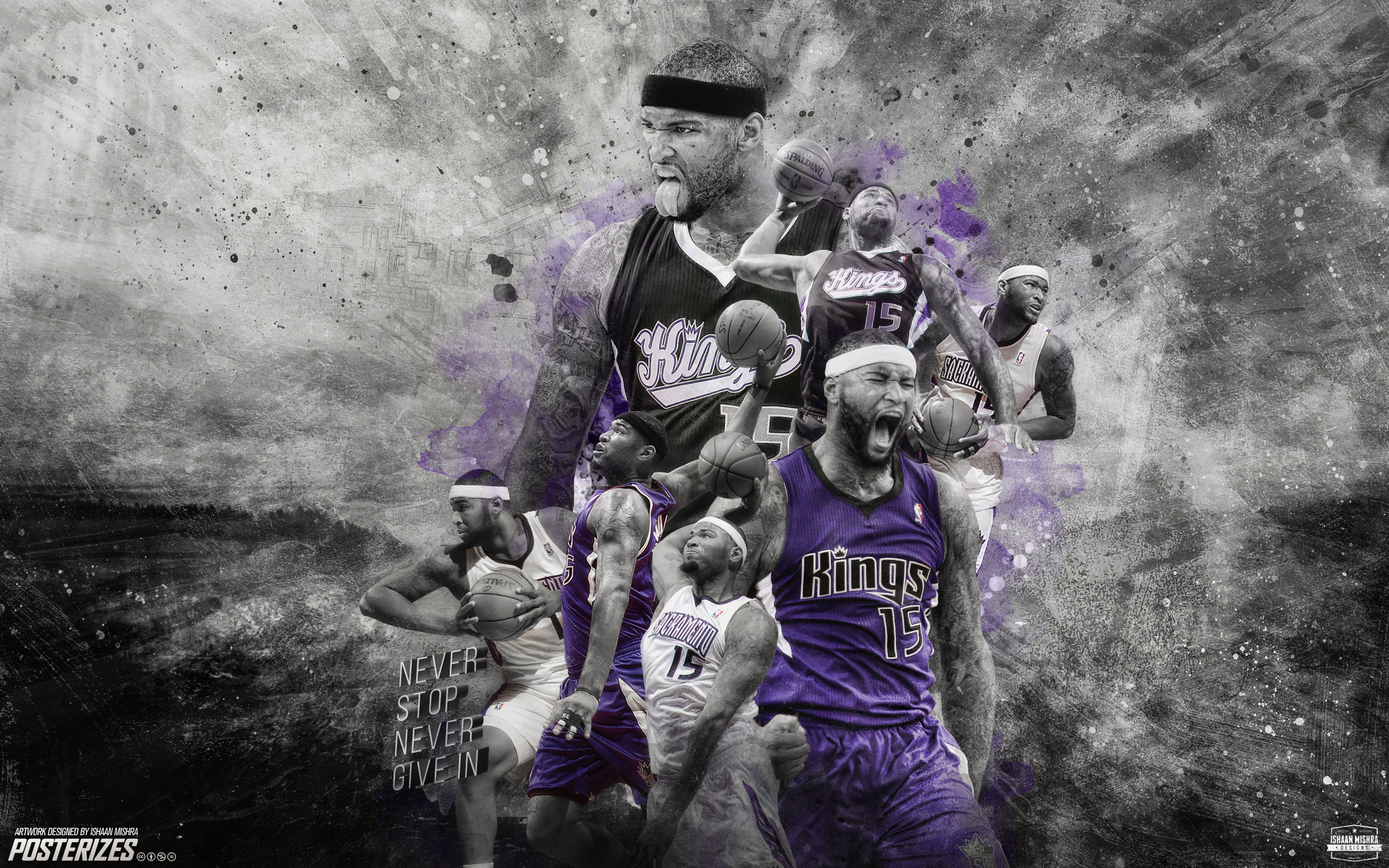 Demarcus Cousins Wallpaper by IshaanMishra