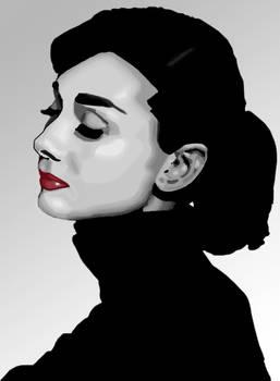 Audrey Hepburn Vector