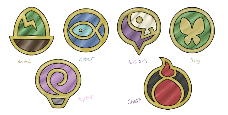 Badge Ideas by TRspicy