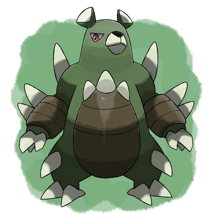 Bear Fakemon by TRspicy