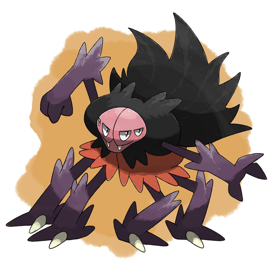 Tarantula Fakemon by TRspicy