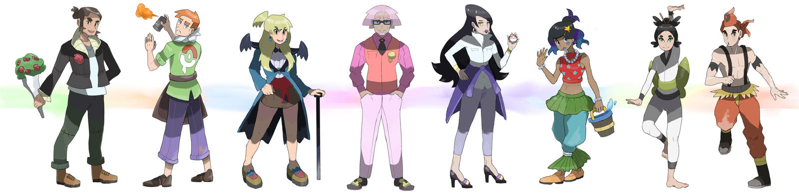 Gym Leader Set by TRspicy
