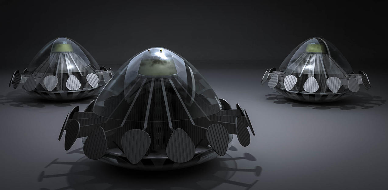 UFOs by axeman3d